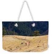 Mountain Biker Weekender Tote Bag