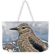Mountain Bird Weekender Tote Bag