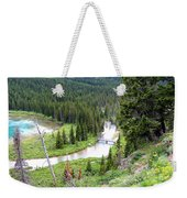 Mountain Bridge Weekender Tote Bag