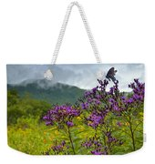 Mountain Butterfly  Weekender Tote Bag