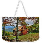 Mountain Cabin 1 Weekender Tote Bag