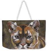 Mountain Cat Weekender Tote Bag