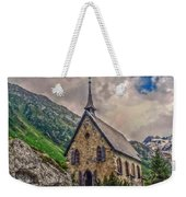 Mountain Chapel Weekender Tote Bag