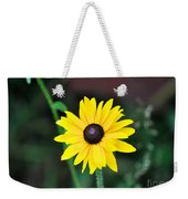 Mountain Daisy Yellow Weekender Tote Bag