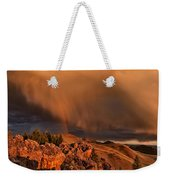 Mountain Drama Weekender Tote Bag