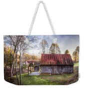 Mountain Farm Weekender Tote Bag