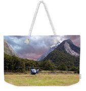 Mountain Flight Weekender Tote Bag