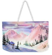Mountain Glow Weekender Tote Bag