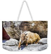Mountain Goat Weekender Tote Bag