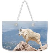 Mountain Goat Up High Weekender Tote Bag