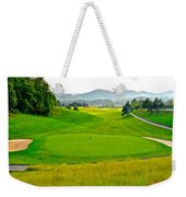 Mountain Golf Weekender Tote Bag by Frozen in Time Fine Art Photography