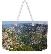 Mountain Gorge Weekender Tote Bag