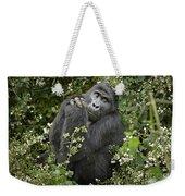 Mountain Gorilla Praying Weekender Tote Bag