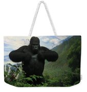 Mountain Gorilla Weekender Tote Bag