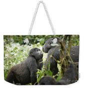 Mountain Gorillas Weekender Tote Bag