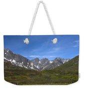 Mountain High Weekender Tote Bag