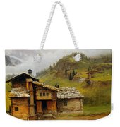 Mountain House  Weekender Tote Bag by Albert Bierstadt