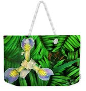 Mountain Iris And Ferns Weekender Tote Bag