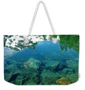 Mountain Lagoon Weekender Tote Bag