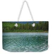 Mountain Lake Weekender Tote Bag by Elena Elisseeva
