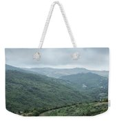 Mountain Landscape Of Italy Weekender Tote Bag