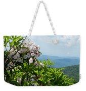 Mountain Laurel Weekender Tote Bag