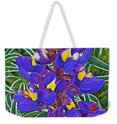 Mountain Lupine In Ancient Incan Pisac In Andes Mountains Above Sacred Valley-peru   Weekender Tote Bag