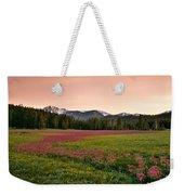 Mountain Meadow Color Weekender Tote Bag