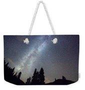 Mountain Milky Way Stary Night View Weekender Tote Bag