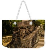 Mountain Monument Weekender Tote Bag