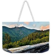 Mountain Overlook Weekender Tote Bag