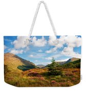 Mountain Pastoral. Rest And Be Thankful. Scotland Weekender Tote Bag
