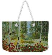 Mountain Poppies Weekender Tote Bag
