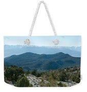 Mountain Range, White Mountains Weekender Tote Bag