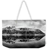 Mountain Reflection Weekender Tote Bag