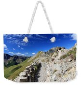 Mountain Ridge Weekender Tote Bag