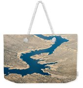 Mountain River From The Air Weekender Tote Bag