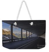 Mountain Road And Tunnel Weekender Tote Bag