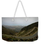 Mountain Road Crete Weekender Tote Bag by Lainie Wrightson