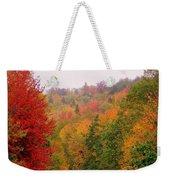 Mountain Road In Fall Weekender Tote Bag