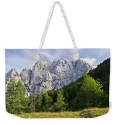 Mountain Scene Weekender Tote Bag