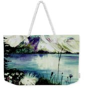 Mountain Serenity Weekender Tote Bag