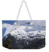 Mountain Snow Weekender Tote Bag