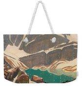 Mountain Solitude Weekender Tote Bag