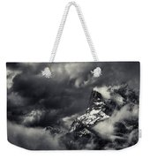 Mountain Storm Banff Weekender Tote Bag