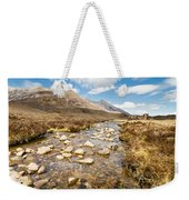 Mountain Stream From Beinn Eighe Weekender Tote Bag
