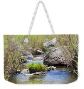 Mountain Stream In Castlewood Canyon State Park Weekender Tote Bag