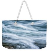 Mountain Stream In Motion E101 Weekender Tote Bag