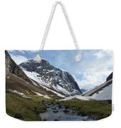 Mountain Stream Weekender Tote Bag