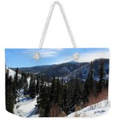 Mountain Sun Weekender Tote Bag